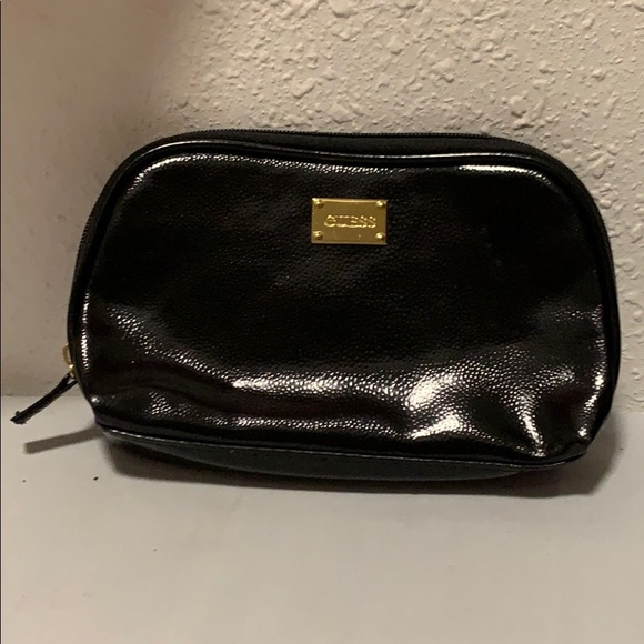 Guess Handbags - 3/$10 NWOT Guess black zipper bag